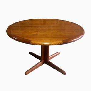 Tavolo da pranzo Mid-Century allungabile in teak, anni '70