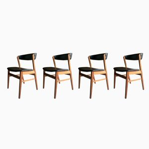 Mid-Century Dining Chairs from Saxkjøbing, 1970s, Set of 4