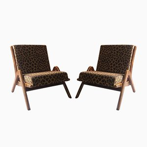 Boomerang Chairs von Neil Morris für Morris of Glasgow, 1950er, 2er Set