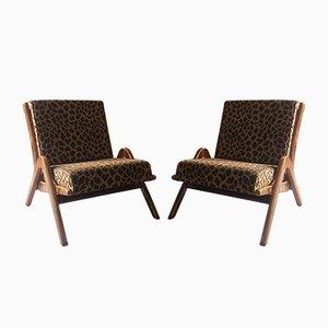 Chaises Boomerang par Neil Morris pour Morris de Glasgow, 1950s, Set de 2