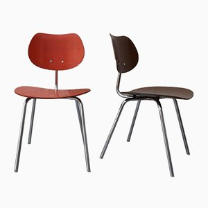 Vintage Modell TF06 Stühle von Kurt Felkel für TON, 2er Set