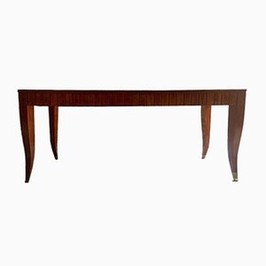 Mid-Century Italian Mahogany Dining Table by Gio Ponti, 1940s
