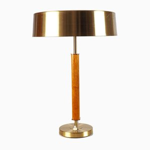 Large Mid-Century Table Lamp from Boréns