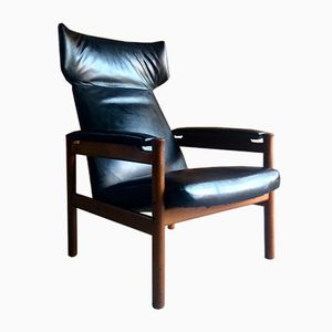 Mid-Century Danish Model 4365 Wing Chair by Soren Hansen for Fritz Hansen, 1960s