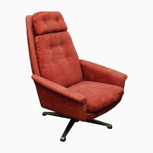 Danish Swivel Armchair, 1970s