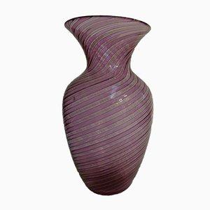 Vaso in vetro di Murano di Seguso, anni '60
