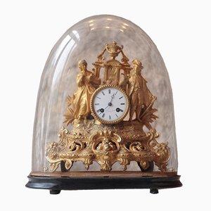 Antike französische Louis XVI Kaminuhr von Servol & Boisson