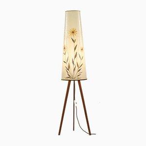 Lámpara de pie danesa, años 60