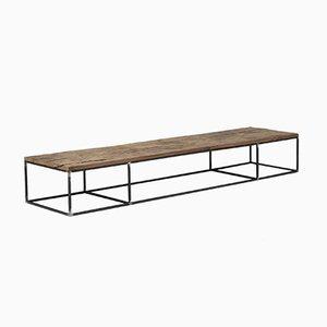 Coffee Table in Steel and Oak by Atelier Serruys, 2017