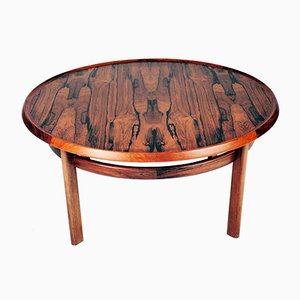 Mid-Century Rosewood Coffee Table by Torbjørn Afdal for Bruksbo