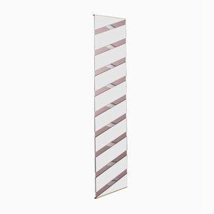 Specchio Twill rosa di Martina Bartoli per Mason Editions