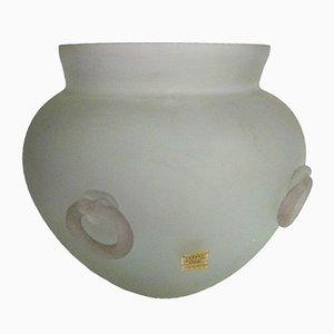 Vase en Verre Murano de Seguso, 1960s