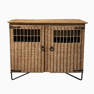 Vintage Wicker Sideboard