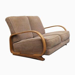 Art Deco 2-Sitzer Streamline Sofa von Gilbert Rohde für Heywood Wakefield, 1930er