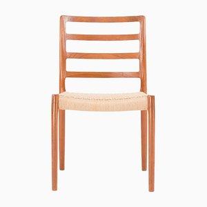 Chaise 85 par Niels Otto Moller pour J.L. Moller, Danemark, 1980s