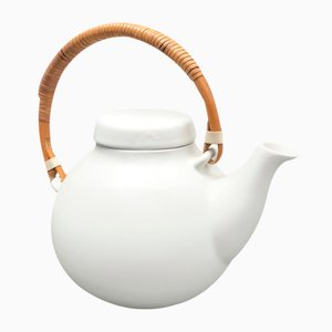 White Teapot by Ulla Procopé for Arabia, 1960s