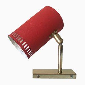 Lámpara Mid-Century con forma cilíndrica, años 60