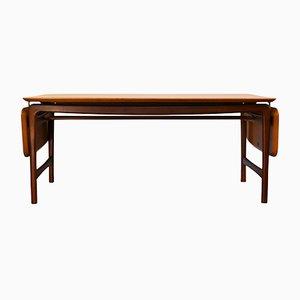 Large Vintage Teak Table by Peter Hvidt & Orla Mølgaard-Nielsen for France & Daverkosen, 1950s