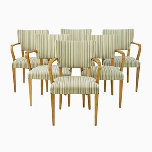 Harlequin Swedish Armchairs, 1960s, Set of 6
