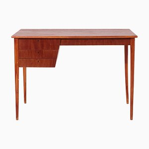 Danish Teak Desk by Severin Hansen, 1950s