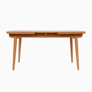 Mid-Century AT 312 Oak Dining Table by Hans J. Wegner for Andreas Tuck