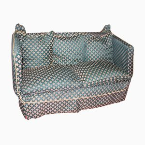 Blue Patterned Sofa from Knole, 1920s