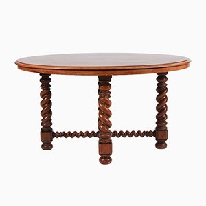 19th Century Oval Mahogany Centre Table