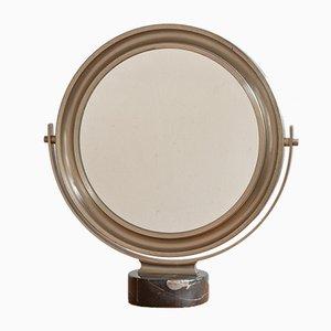 Espejo de mesa Narcisso de Sergio Mazza para Artemide, años 70