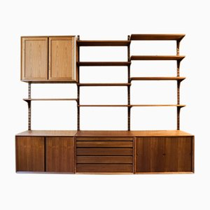 Vintage Teak Wall System by Poul Cadovius for Cade