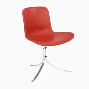 Chaise d'Appoint PK-9 par Poul Kjaerholm pour Fritz Hansen, 1960s