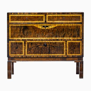 Commode Art Deco en Bouleau par Carl Malmsten