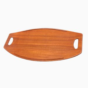Teak Tray by Jens Quistgaard for Dansk, 1950s