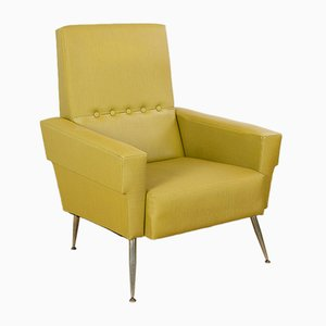 Vintage Yellow Lounge Chair
