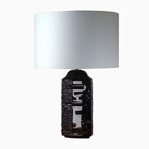 Französische Tischlampe von Cesar für Daum