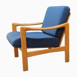 Mid-Century Wooden Armchair, 1960s