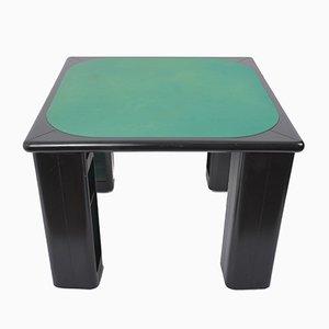 Tavolo da gioco di Pierluigi Molinari per Pozzi, anni '70