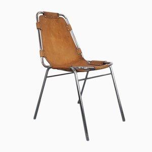 Chaise en Cuir par Charlotte Perriand, 1972