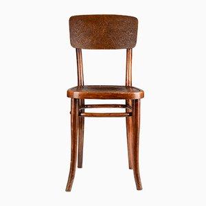 Sedia in legno floreale di Gebrüder Thonet Vienna GmbH, anni '20