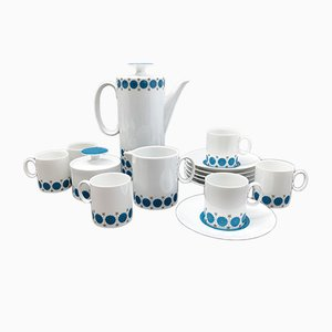 Medallion Emerald Coffee Set by Richard Scherrar for Rosenthal, 1960s