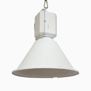 Lampada industriale bianca di Predom Mesko, anni '60