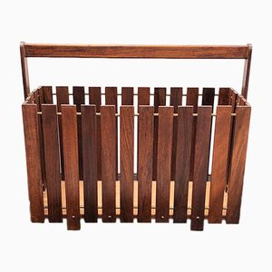 Rosewood Magazine Rack from Gladlyn Ware, 1960s