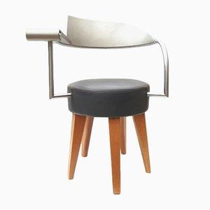 Techno Stuhl von Philippe Starck für Maletti, 1980er