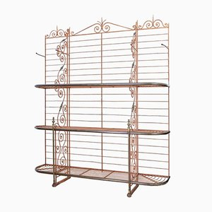 Antique Parisian Bakery Bread Rack