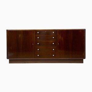 Large Danish Mahogany Sideboard, 1950s