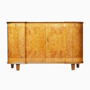Modernes skandinavisches Sideboard aus Ulme-Wurzelholz, 1950er
