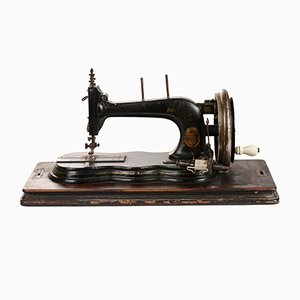 Máquina de coser alemana de Junker Run, años 20