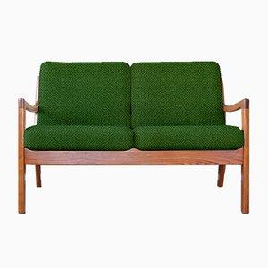 Personalisierbares 2-Sitzer Vintage Sofa von Ole Wanscher für France & Søn / France & Daverkosen in Grün