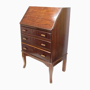 Vintage English Mahogany Secretaire