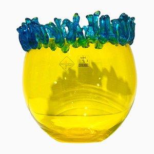 Vase par Daniela Puppa pour Barovier & Toso, 1995