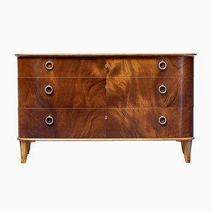 Mid-Century Mahogany Chest of Drawers from Svensk Möbelindustri